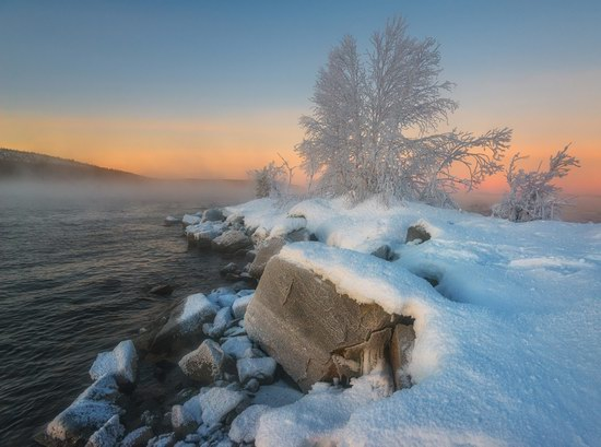 Winter fairytale of the Kola Peninsula, Russia, photo 11