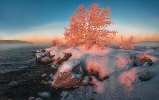 Winter fairytale of the Kola Peninsula, Russia, photo 12