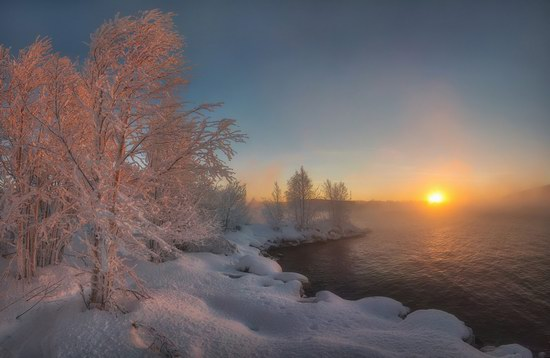 Winter fairytale of the Kola Peninsula, Russia, photo 13