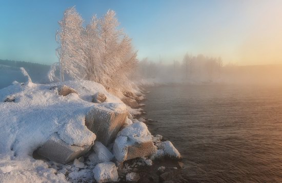 Winter fairytale of the Kola Peninsula, Russia, photo 14
