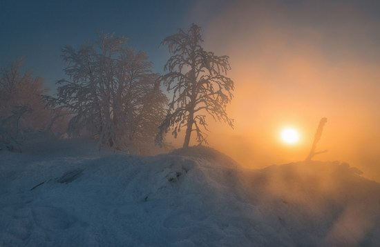 Winter fairytale of the Kola Peninsula, Russia, photo 15