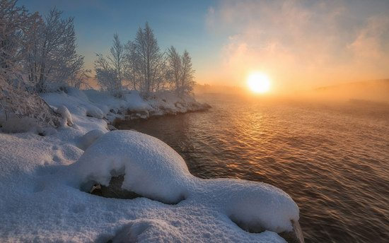 Winter fairytale of the Kola Peninsula, Russia, photo 16