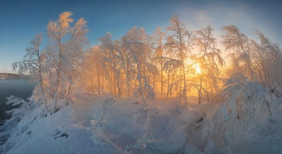 Winter fairytale of the Kola Peninsula, Russia, photo 17