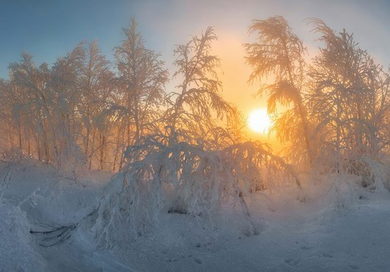 Winter fairytale of the Kola Peninsula, Russia, photo 18