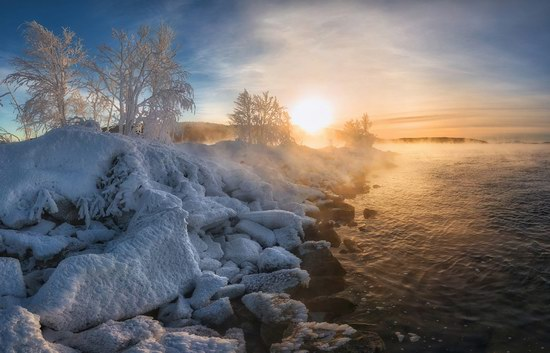 Winter fairytale of the Kola Peninsula, Russia, photo 19