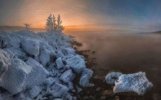 Winter fairytale of the Kola Peninsula, Russia, photo 22