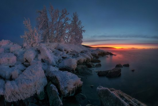 Winter fairytale of the Kola Peninsula, Russia, photo 24