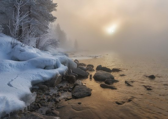 Winter fairytale of the Kola Peninsula, Russia, photo 3