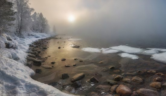 Winter fairytale of the Kola Peninsula, Russia, photo 4