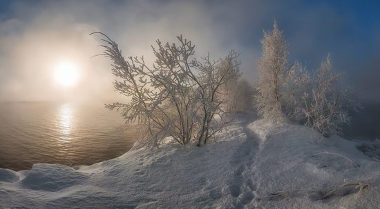 Winter fairytale of the Kola Peninsula, Russia, photo 5