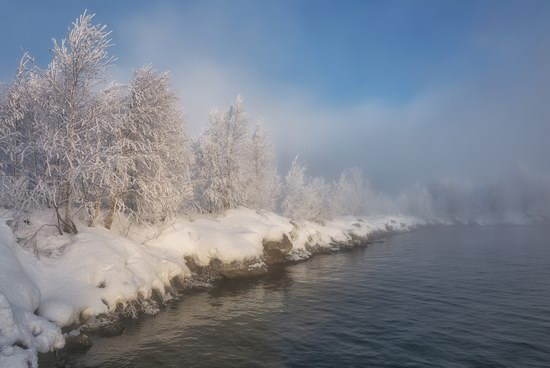 Winter fairytale of the Kola Peninsula, Russia, photo 6