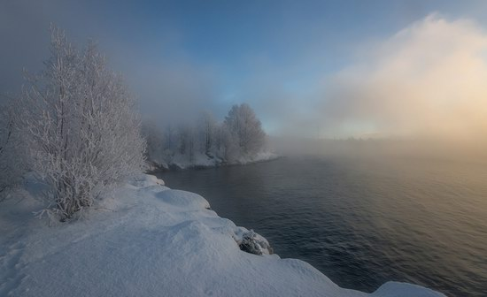 Winter fairytale of the Kola Peninsula, Russia, photo 8
