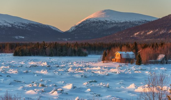 Winter fairytale of the Kola Peninsula, Russia, photo 9