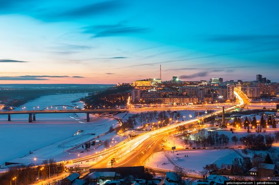 Winter in Ufa city, Russia, photo 1