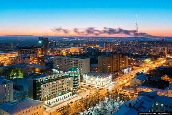 Winter in Ufa city, Russia, photo 11