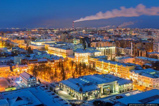 Winter in Ufa city, Russia, photo 12