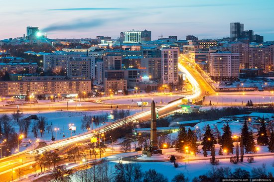 Winter in Ufa city, Russia, photo 16