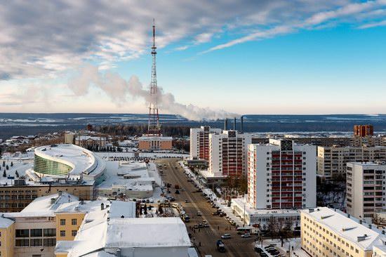 Winter in Ufa city, Russia, photo 24