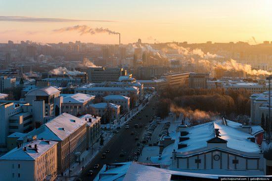 Winter in Ufa city, Russia, photo 3