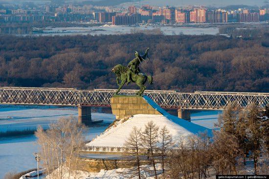 Winter in Ufa city, Russia, photo 5