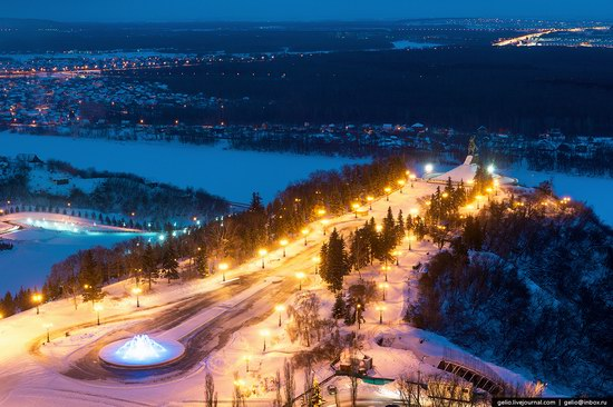 Winter in Ufa city, Russia, photo 6