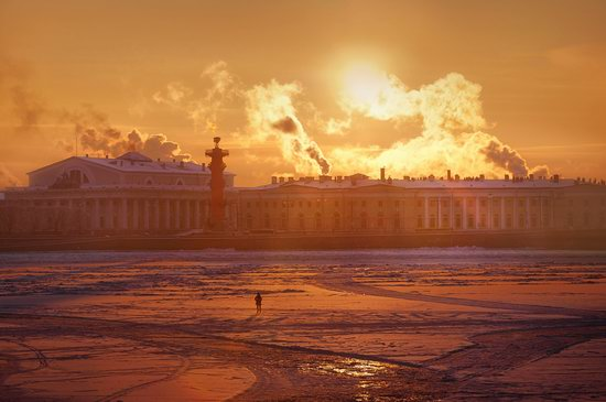 One frosty day in St. Petersburg, Russia, photo 3