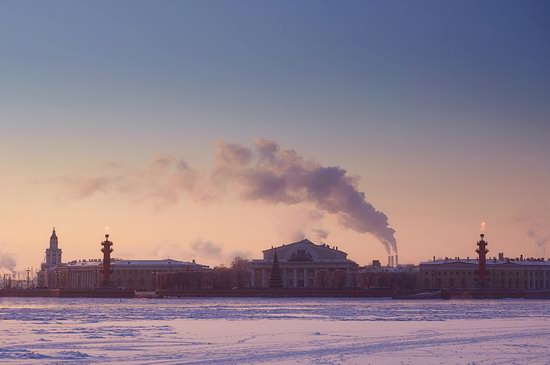 One frosty day in St. Petersburg, Russia, photo 4
