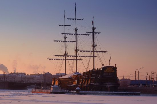One frosty day in St. Petersburg, Russia, photo 5