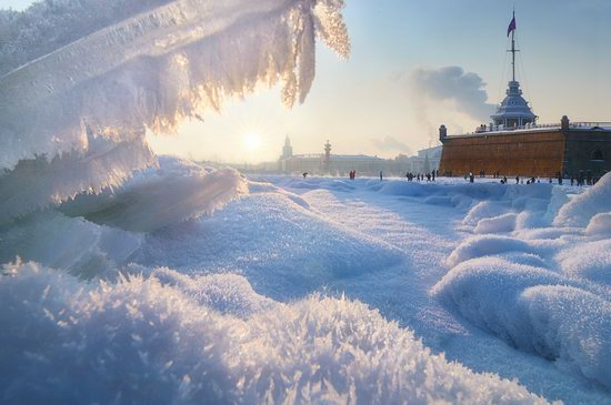 One frosty day in St. Petersburg, Russia, photo 6