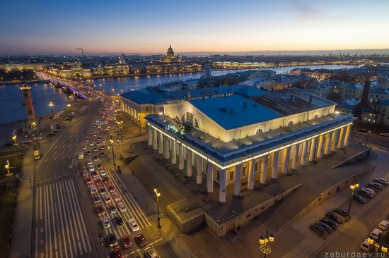 Saint Petersburg at night - the view from above, Russia, photo 18