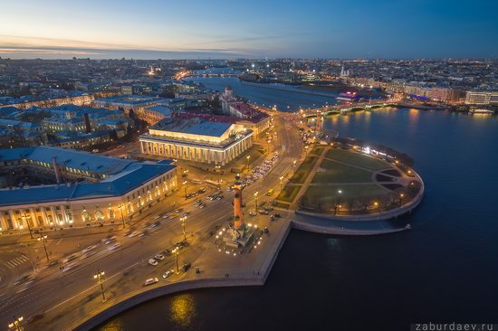 Saint Petersburg at night - the view from above, Russia, photo 19