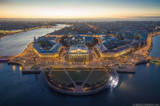 Saint Petersburg at night - the view from above, Russia, photo 20