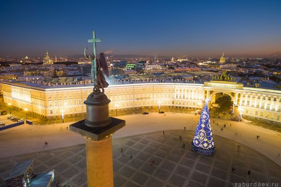 Saint Petersburg at night - the view from above, Russia, photo 22