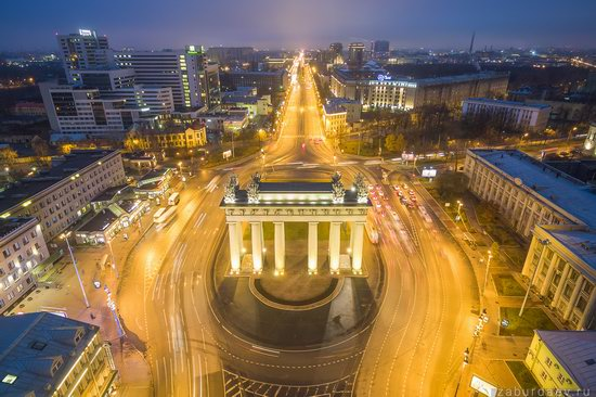 Saint Petersburg at night - the view from above, Russia, photo 9