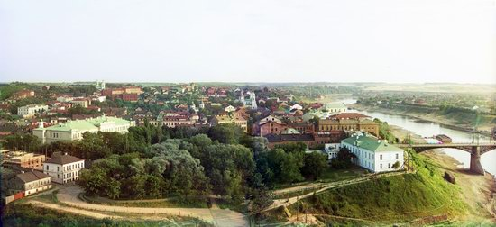 Color panoramas of the Russian Empire, photo 10