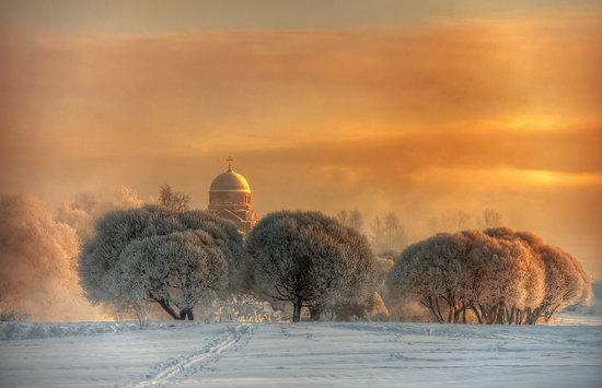 Frosty January on Murinskiy Stream, St. Petersburg, Russia, photo 3