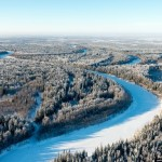 Khanty-Mansi Autonomous Okrug from above