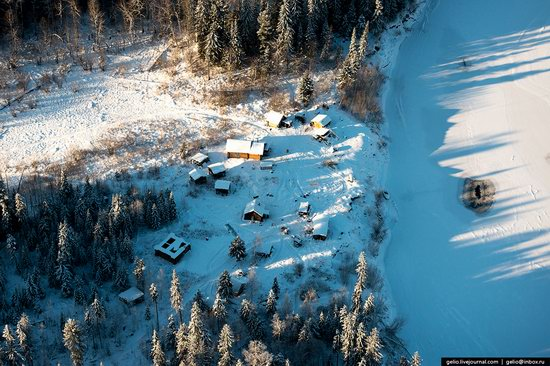 Khanty-Mansi Autonomous Okrug from above, Siberia, Russia, photo 11
