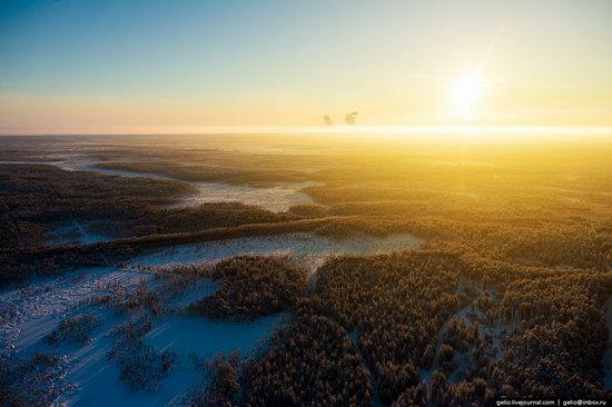 Khanty-Mansi Autonomous Okrug from above, Siberia, Russia, photo 14