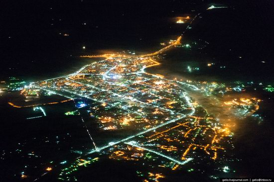 Khanty-Mansi Autonomous Okrug from above, Siberia, Russia, photo 21