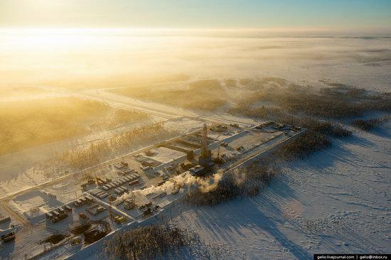 Khanty-Mansi Autonomous Okrug from above, Siberia, Russia, photo 22