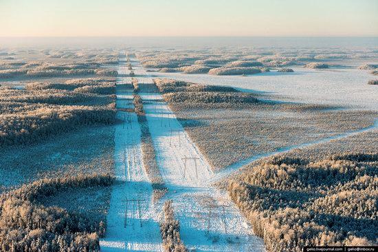 Khanty-Mansi Autonomous Okrug from above, Siberia, Russia, photo 23
