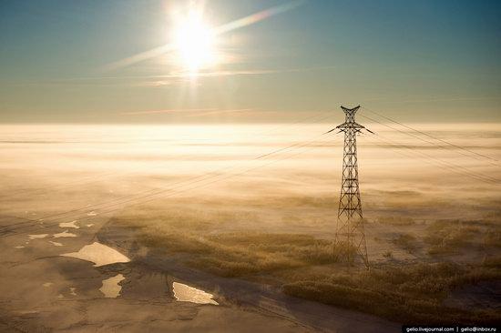 Khanty-Mansi Autonomous Okrug from above, Siberia, Russia, photo 24