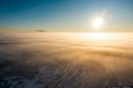 Khanty-Mansi Autonomous Okrug from above, Siberia, Russia, photo 25