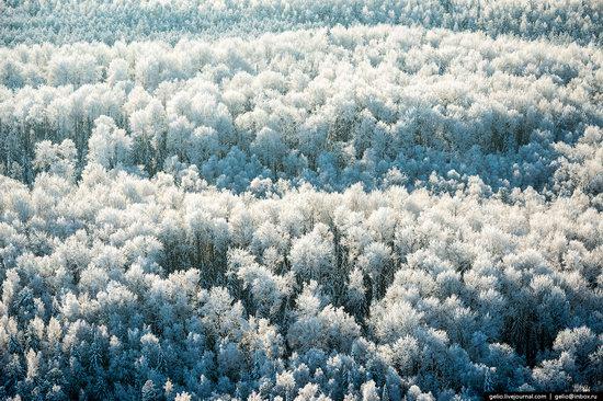 Khanty-Mansi Autonomous Okrug from above, Siberia, Russia, photo 5