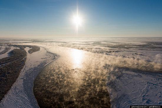 Khanty-Mansi Autonomous Okrug from above, Siberia, Russia, photo 6
