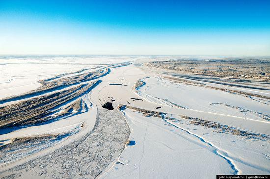 Khanty-Mansi Autonomous Okrug from above, Siberia, Russia, photo 7