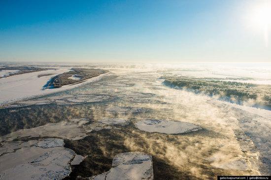 Khanty-Mansi Autonomous Okrug from above, Siberia, Russia, photo 8