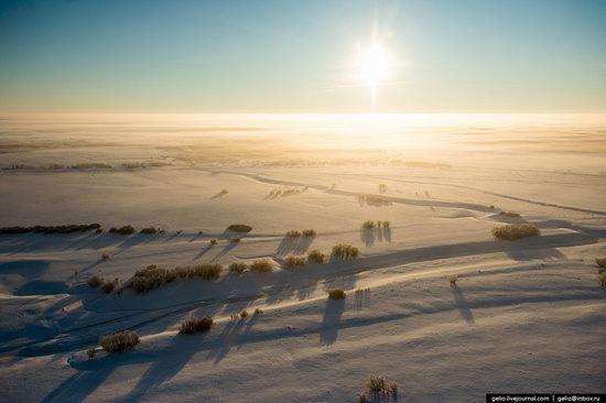 Khanty-Mansi Autonomous Okrug from above, Siberia, Russia, photo 9