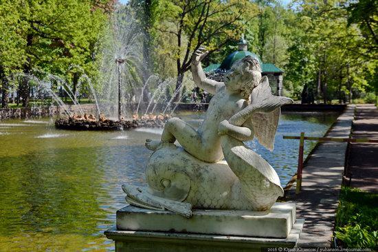 Spring in Peterhof museum, St. Petersburg, Russia, photo 13